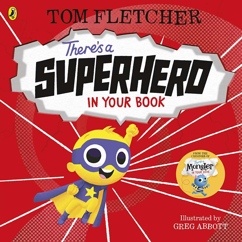There's a Superhero in Your Book - Jacket