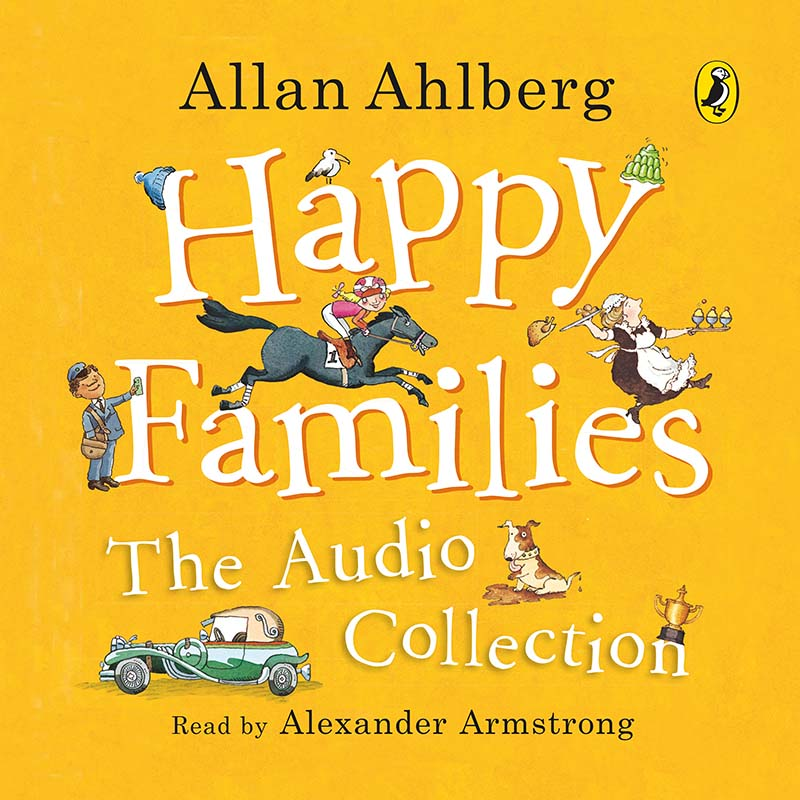 Happy Families: The Audio Collection - Jacket
