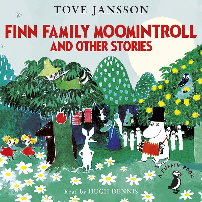 Finn Family Moomintroll and Other Stories - Jacket