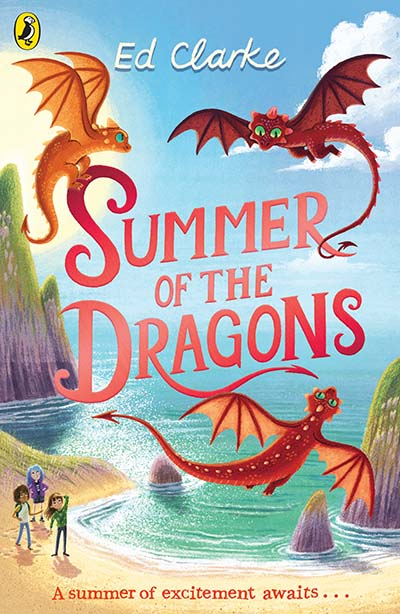 Summer of the Dragons - Jacket