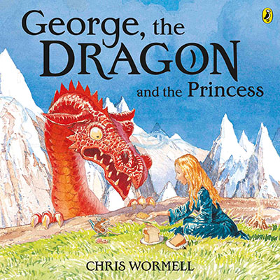 George, the Dragon and the Princess - Jacket
