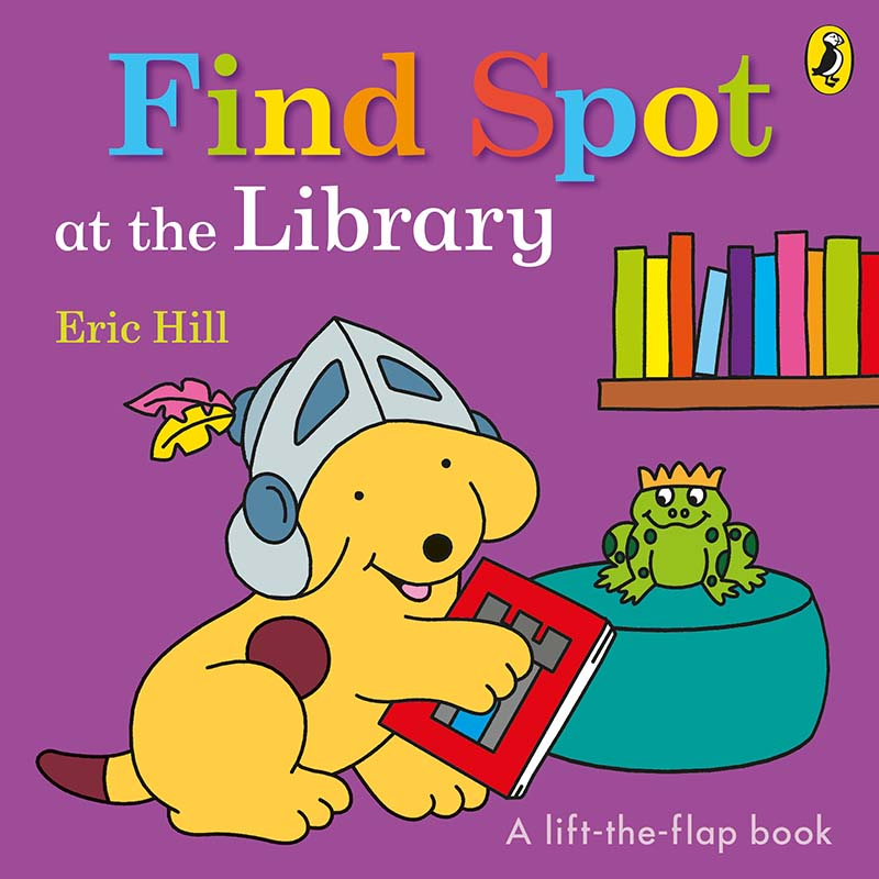 Find Spot at the Library - Jacket