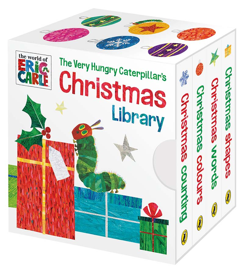 The Very Hungry Caterpillar's Christmas Library - Jacket