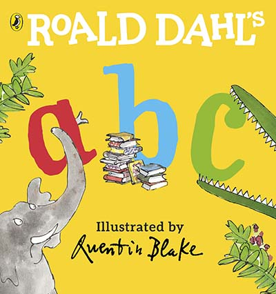 Roald Dahl's ABC - Jacket