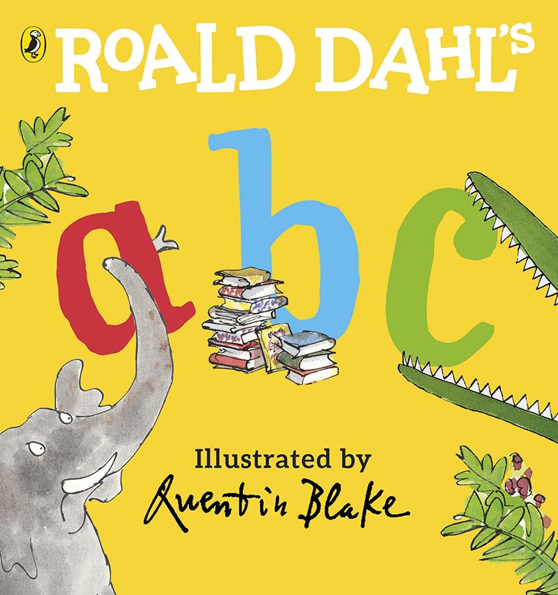 Roald Dahl's ABC - Jacket