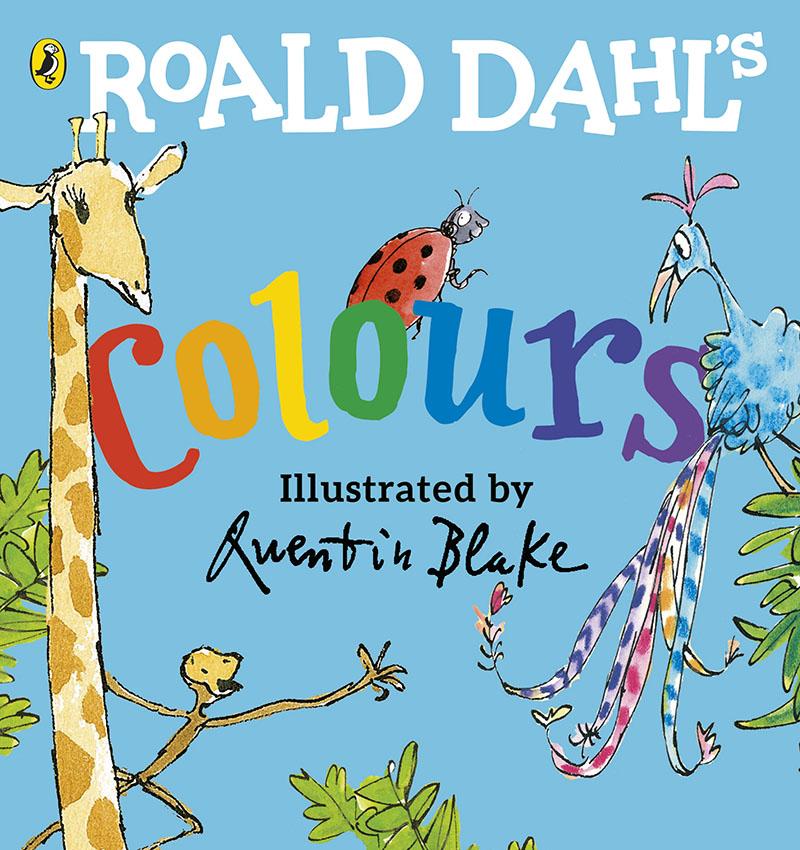 Roald Dahl's Colours - Jacket