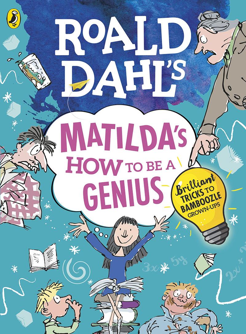 Roald Dahl's Matilda's How to be a Genius - Jacket
