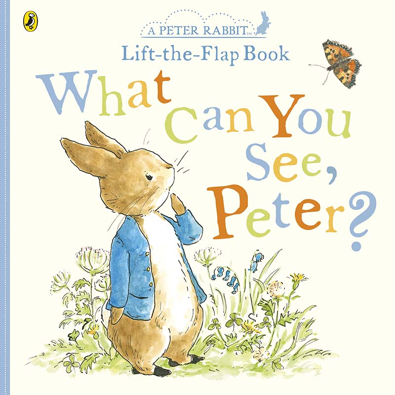 What Can You See Peter? - Jacket