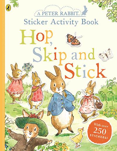 Peter Rabbit Hop, Skip, Stick Sticker Activity - Jacket