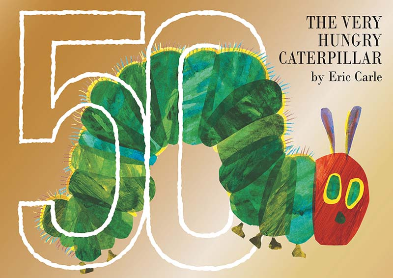 The Very Hungry Caterpillar 50th Anniversary Collector's Edition - Jacket