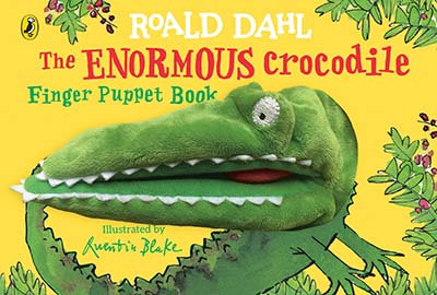 The Enormous Crocodile's Finger Puppet Book - Jacket