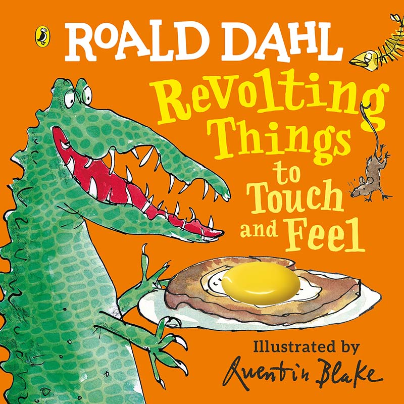 Roald Dahl: Revolting Things to Touch and Feel - Jacket