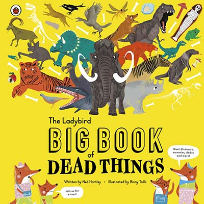 The Ladybird Big Book of Dead Things - Jacket