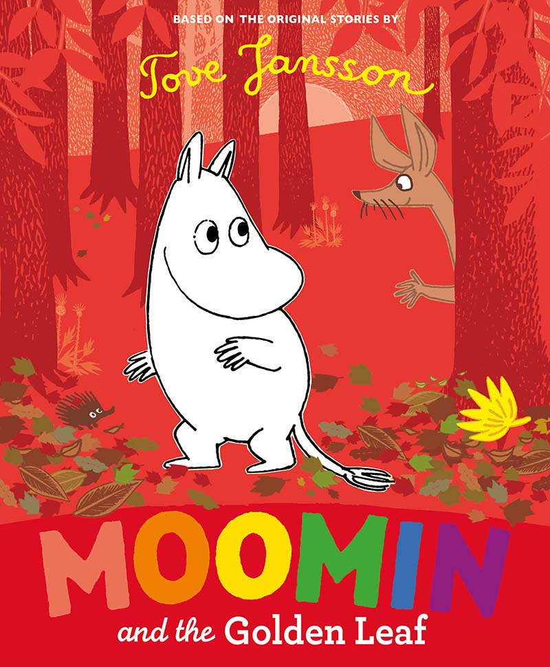 Moomin and the Golden Leaf - Jacket