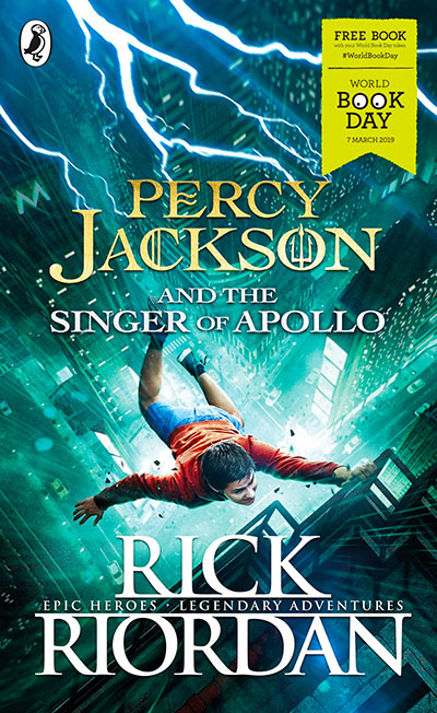 Percy Jackson and the Singer of Apollo - Jacket