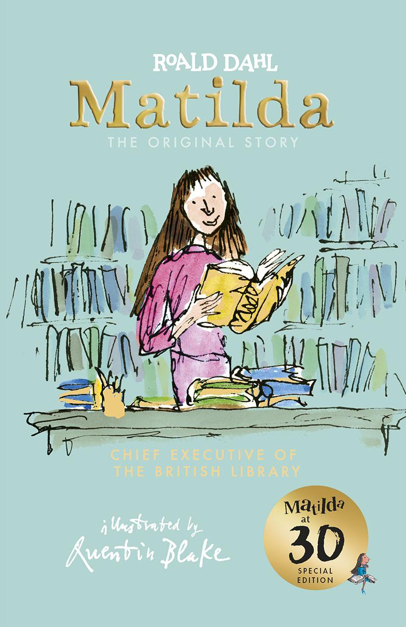 Matilda at 30: Chief Executive of the British Library - Jacket