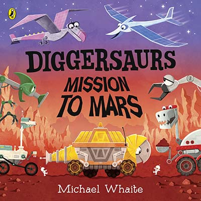 Diggersaurs: Mission to Mars - Jacket