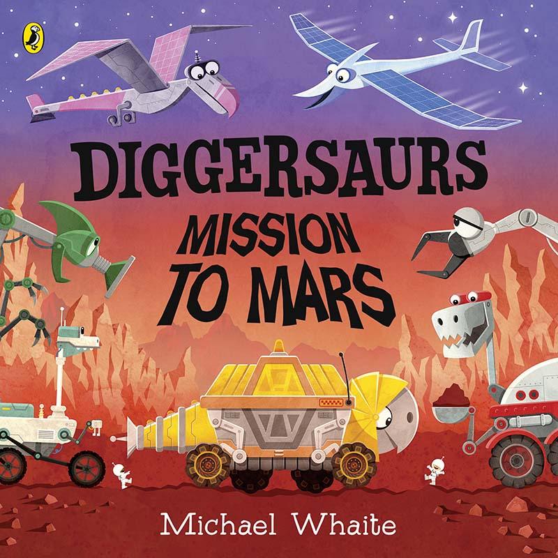 Diggersaurs on Mars - Jacket