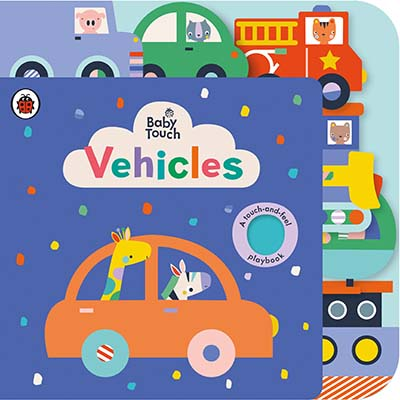Baby Touch: Vehicles Tab Book - Jacket