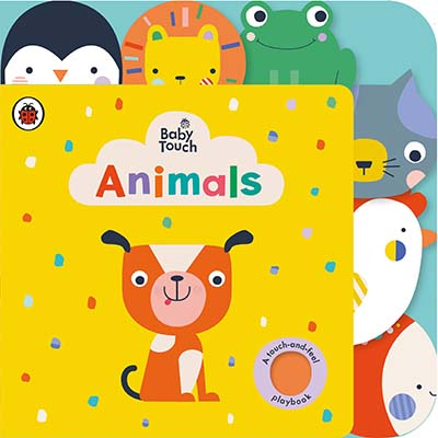 Baby Touch: Animals Tab Book - Jacket