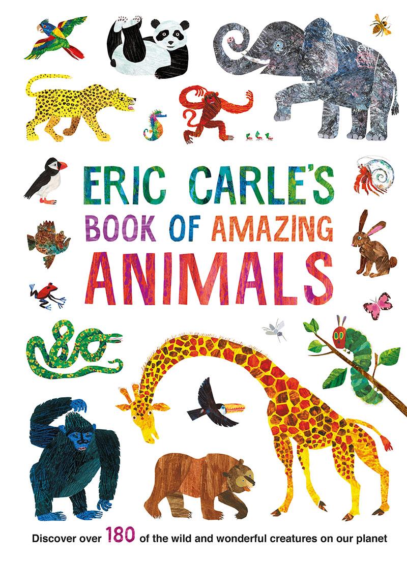Eric Carle's Book of Amazing Animals - Jacket