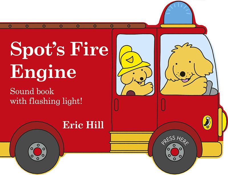 Spot's Fire Engine - Jacket