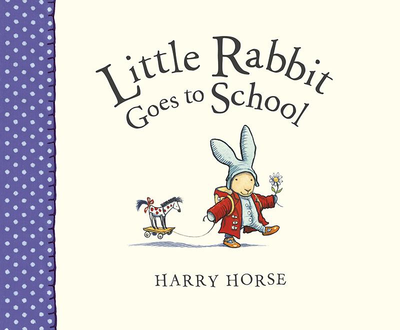 Little Rabbit Goes to School - Jacket