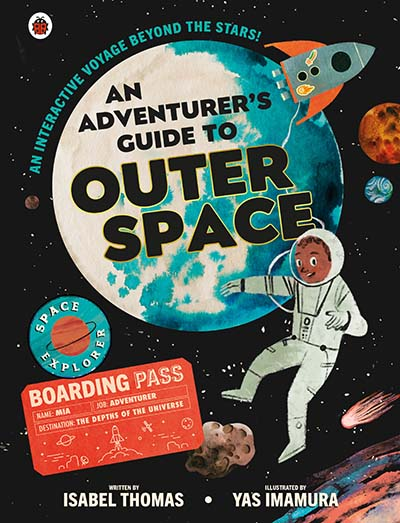 An Adventurer's Guide to Outer Space - Jacket