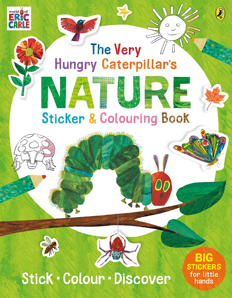 The Very Hungry Caterpillar's Nature Sticker and Colouring Book - Jacket