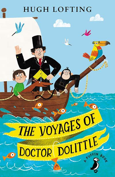 The Voyages of Doctor Dolittle - Jacket