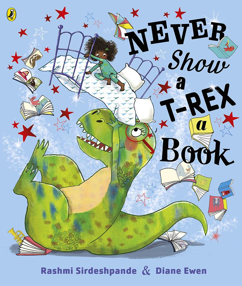 Never Show A T-Rex A Book! - Jacket