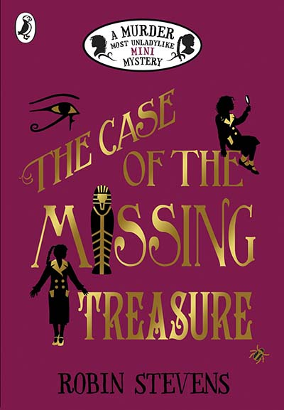 The Case of the Missing Treasure - Jacket