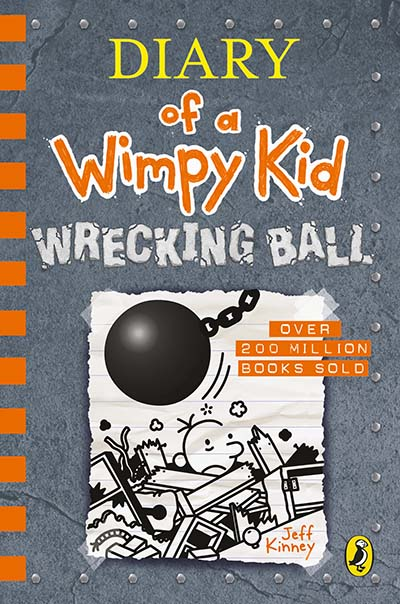 Diary of a Wimpy Kid: Wrecking Ball (Book 14) - Jacket