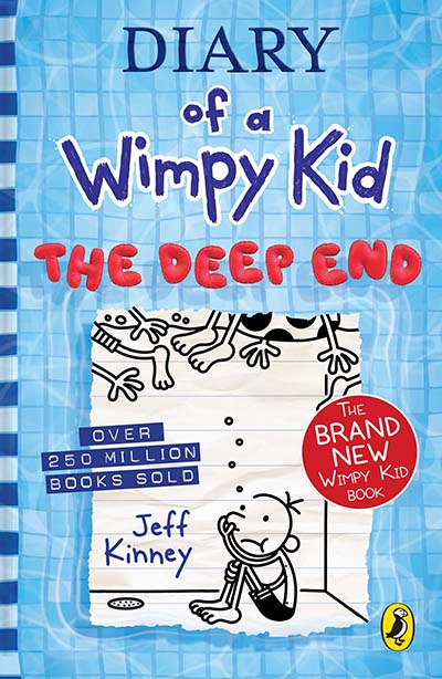 Diary of a Wimpy Kid: The Deep End (Book 15) - Jacket