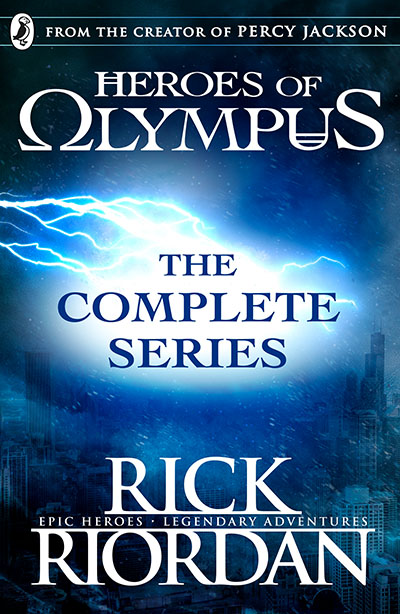 Heroes of Olympus: The Complete Series (Books 1, 2, 3, 4, 5) - Jacket