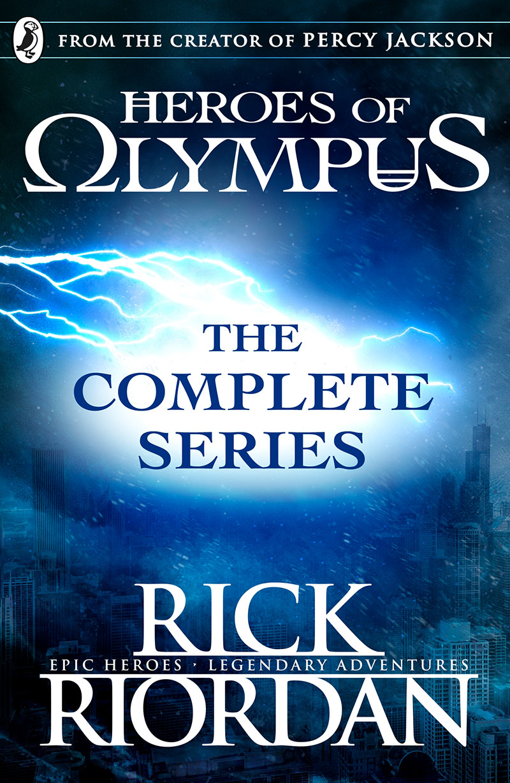 Heroes of Olympus: The Complete Series (Books 1, 2, 3, 4, 5) - Jacket