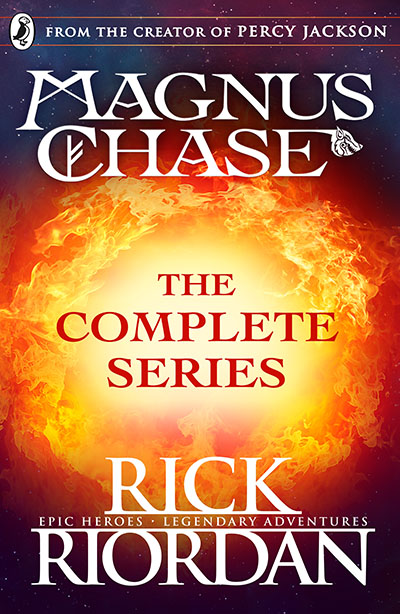 Magnus Chase: The Complete Series (Books 1, 2, 3) - Jacket