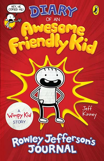 Diary of an Awesome Friendly Kid - Jacket
