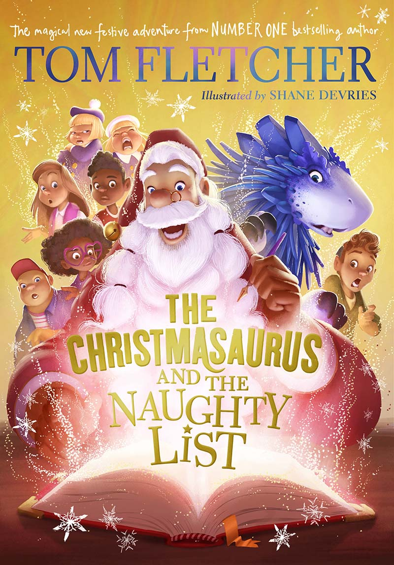 The Christmasaurus and the Naughty List - Jacket