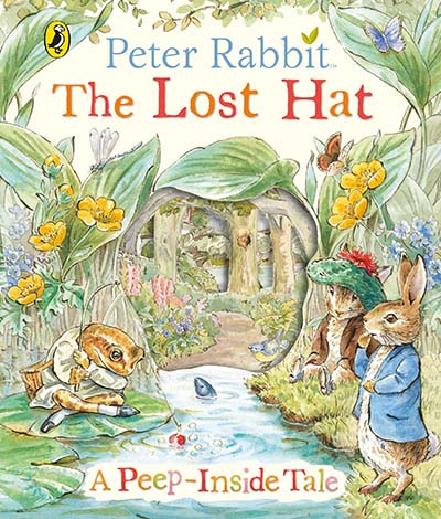 Peter Rabbit: The Lost Hat A Peep-Inside Tale - Jacket