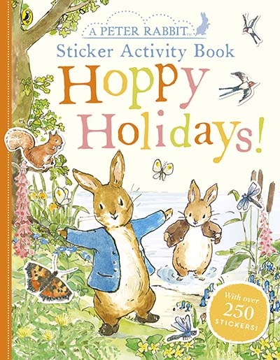 Peter Rabbit Hoppy Holidays Sticker Activity Book - Jacket