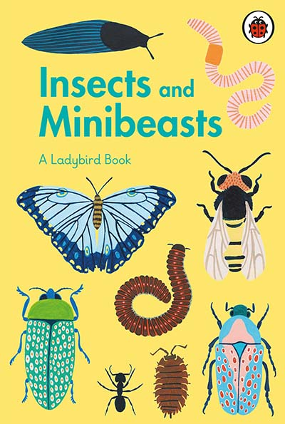 A Ladybird Book: Insects and Minibeasts - Jacket