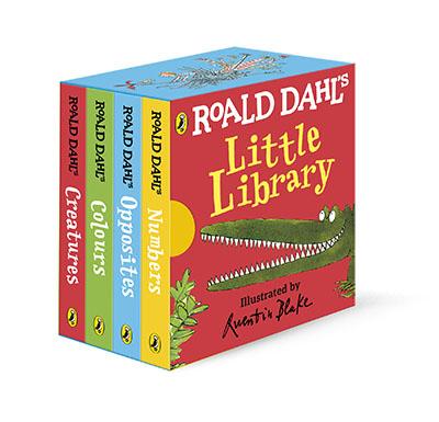 Roald Dahl's Little Library - Jacket