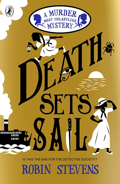 Death Sets Sail - Jacket
