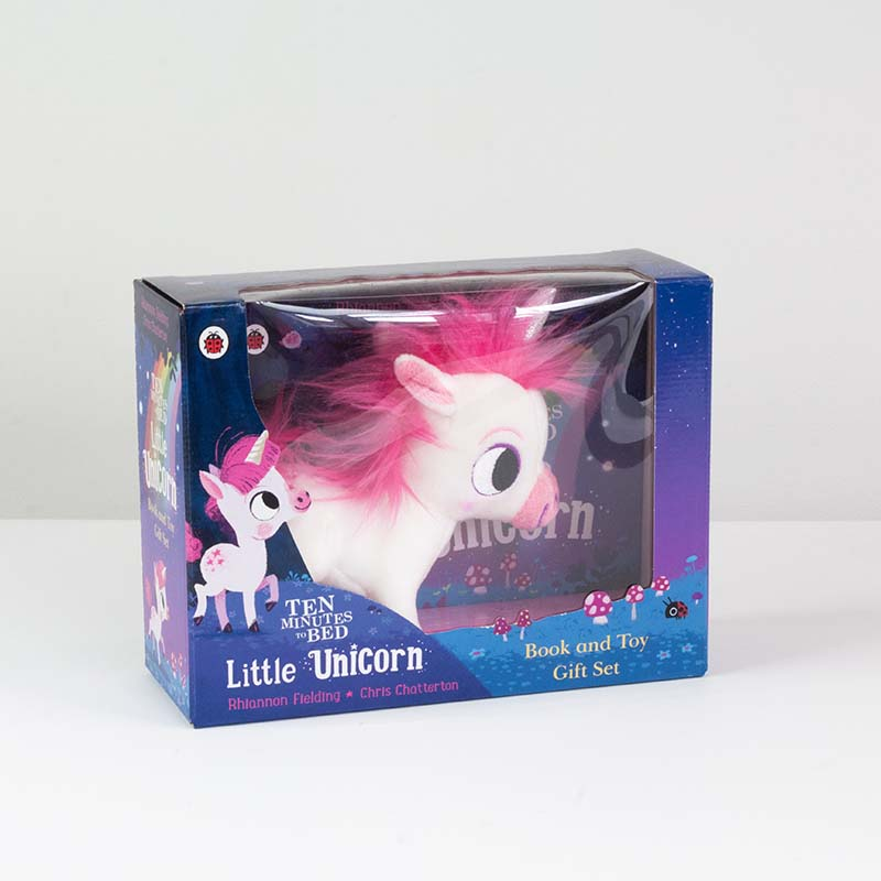 Ten Minutes to Bed: Little Unicorn toy and book set - Jacket