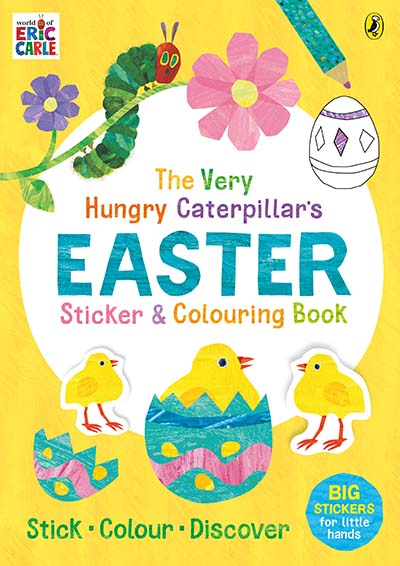 The Very Hungry Caterpillar's Easter Sticker and Colouring Book - Jacket