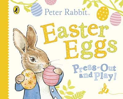 Peter Rabbit Easter Eggs Press Out and Play - Jacket