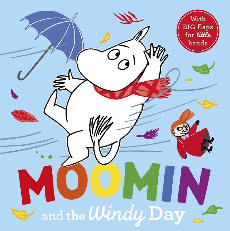 Moomin and the Windy Day - Jacket