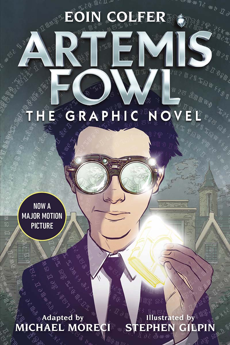 Artemis Fowl: The Graphic Novel (New) - Jacket