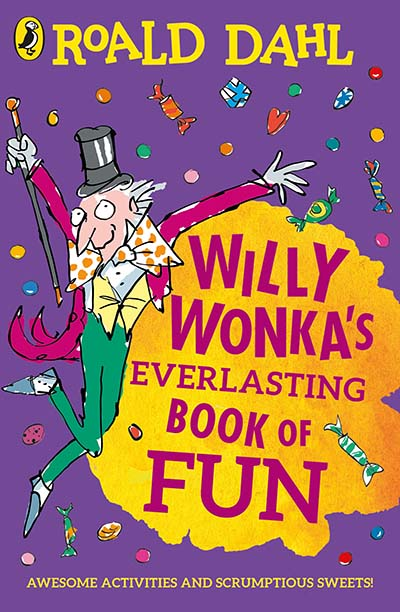 Willy Wonka's Everlasting Book of Fun - Jacket